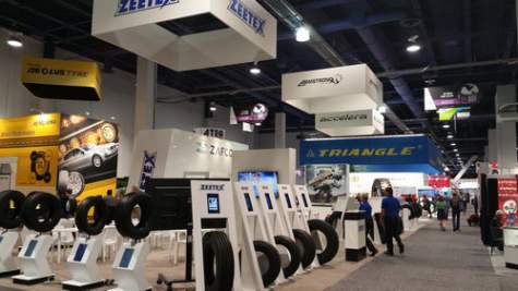 ZAFCO Unveils Winter Tires and more at SEMA Show 2014 – U.S.A