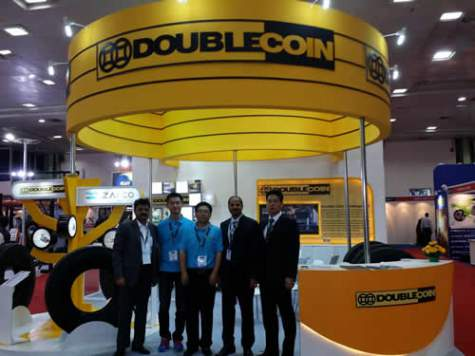 ZAFCO takes Double Coin to TyrExpo India – 2015