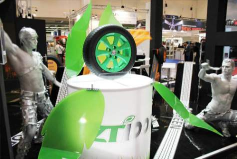 ZEETEX Showcased ZT1000 – The Environment-friendly Tire – in Reifen